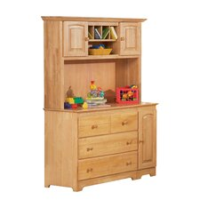 Windsor 3 Drawer Changing Table with Hutch