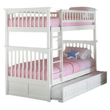 Columbia Twin Bunk Bed with Trundle