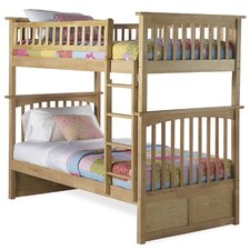 <strong>Atlantic Furniture</strong> Columbia Bunk Bed