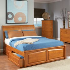 Bordeaux Storage Panel Bed