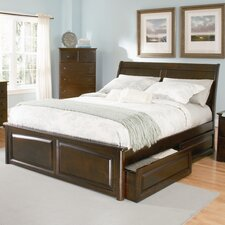<strong>Atlantic Furniture</strong> Bordeaux Storage Panel Bed