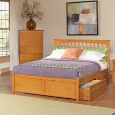 Brooklyn Storage Slat Bed