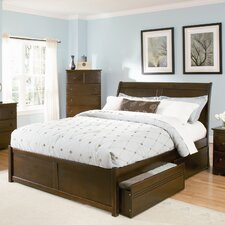<strong>Atlantic Furniture</strong> Bordeaux Storage Platform Bed