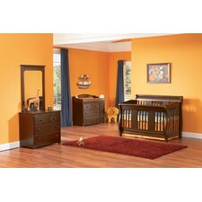 <strong>Atlantic Furniture</strong> Versailles 4-in-1 Convertible Crib Set