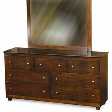 <strong>Atlantic Furniture</strong> Miami 7 Drawer Dresser with Mirror