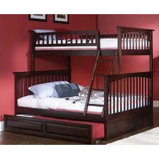 Columbia Bunk Bed with Trundle Bed