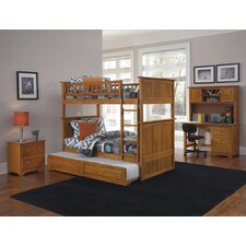 Nantucket Bunk Bed with Trundle Bed