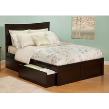 Urban Lifestyle Metro Bed with Bed Drawers Set