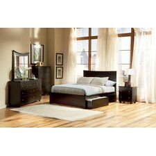 <strong>Atlantic Furniture</strong> Miami Platform Bed Underbed Storage Drawers