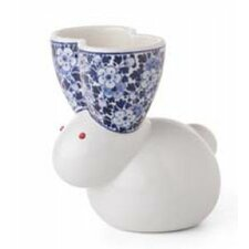 Delft Blue Rabbit Vase 9-2