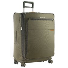 "Baseline 28"" Large Expandable Spinner Suitcase"
