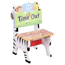 <strong>Teamson Kids</strong> Sunny Safari Time Out Kid's Desk Chair