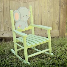 <strong>Teamson Kids</strong> Elephant Kid's Rocking Chair