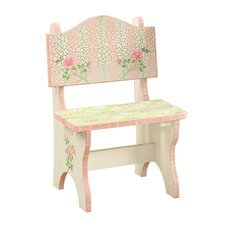 Crackled Rose Room Kids Desk Chair