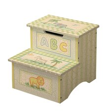 Fantasy Fields- Safari Crackle Step Stool with Storage
