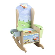 Transportation Potty Kid's Rocking Chair