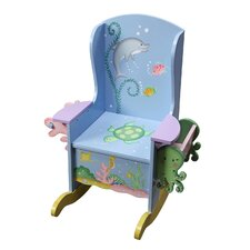 <strong>Teamson Kids</strong> Under the Sea Potty Kid's Rocking Chair