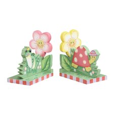 <strong>Teamson Kids</strong> Magic Garden Book End (Set of 2)
