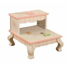 <strong>Teamson Kids</strong> Princess and Frog Crown Step Stool