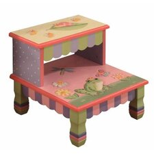 Magic Garden 2-Step Step Stool