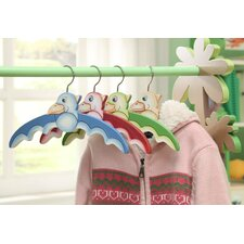 <strong>Teamson Kids</strong> Dinosaur Kingdom Children's Hanger (Set of 4)