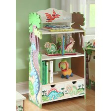 <strong>Teamson Kids</strong> Dinosaur Kingdom Children's Bookcase
