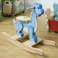 <strong>Teamson Kids</strong> Dinosaur Kingdom Children's Rocker