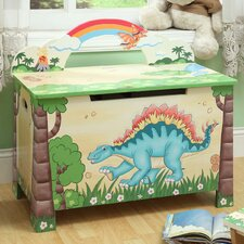 <strong>Teamson Kids</strong> Dinosaur Kingdom Children's Toy Box