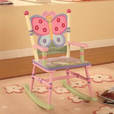 Magic Garden Kid's Rocking Chair
