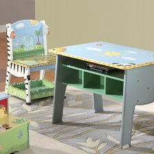 <strong>Teamson Kids</strong> Sunny Safari Kid's Desk Chair