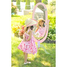 "Magic Garden 51.5"" H x 20"" W Children's Standing Mirror"
