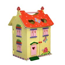 <strong>Teamson Kids</strong> Magic Garden Hand Carry Dollhouse