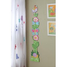 <strong>Teamson Kids</strong> Magic Garden Girls' Growth Chart