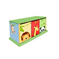 <strong>Teamson Kids</strong> Sunny Safari 3 Drawer Cubby