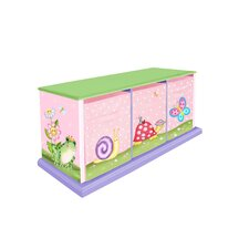 <strong>Teamson Kids</strong> Magic Garden 3 Drawer Cubby