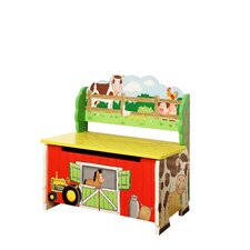 Happy Farm Room Kid's Bench