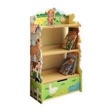 <strong>Teamson Kids</strong> Happy Farm Room Wooden Bookcase