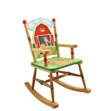Happy Farm Room Kid's Rocking Chair