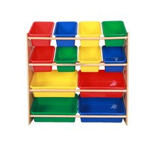 Toy Organizer Shelf 12 Compartment Cubby