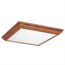 <strong>Sea Gull Lighting</strong> Solid Oak Fluorescent Trim (27 3/8''L x 26 3/8'' W )