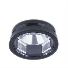 Black Recessed Lighting Open Trim  with Lens