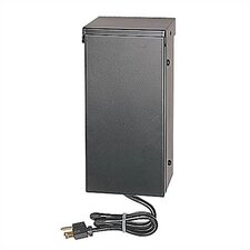 Ambiance 150W Single Output Outdoor Transformer in Black