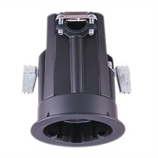 Black Non-IC Recessed Lighting Housing