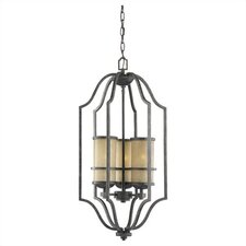 Roslyn 3 Light Foyer Pendant