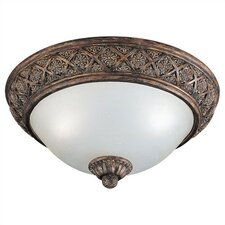 Highlands 2 Light Flush Mount
