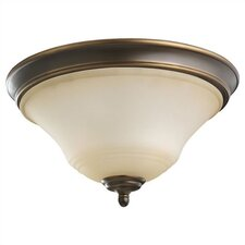 Parkview 2 Light Flush Mount