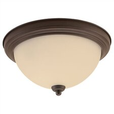 Del Prato 1 Light Flush Mount