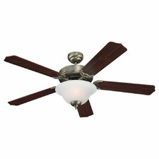 "52"" Quality Max Plus 5 Blade Ceiling Fan"
