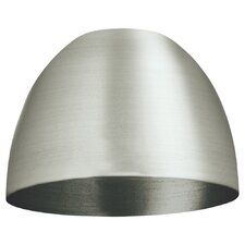 Mini Dome Metal Shade in Brushed Stainless