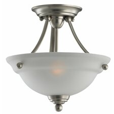 <strong>Sea Gull Lighting</strong> Wheaton 2 Light Convertible Inverted Pendant